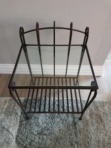 Rod Iron End Table