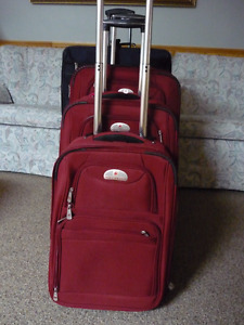 4 Piece Luggage (Air Canada &Samsonite ) All Priced Different