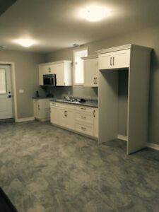 Brand new house, lower two bedroom unit in Saint Catherine's