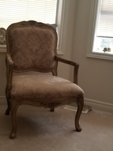 L-Shaped Couch & Chair for Sale