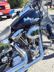 Custom 2002 Harley FXDWG for Sale  or Swap - $ 10,000.00 OBO