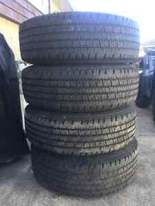 """Hankook DynaPro AS Mud + Snow With 16"""" Wheels"""