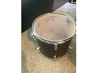 "STAGG TOM DRUMS 13"" x 11"" in red wine"