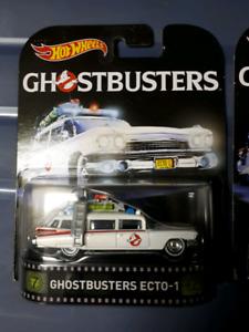 Hotwheels ghostbusters