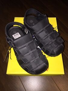 Brand new in box size 12.5 leather style sandal