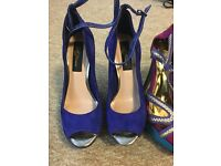 Size 4 heels - 7 pairs -£35