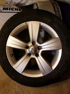 Jeep alloy rims 17 inch 5x4.5 - 5x114.3