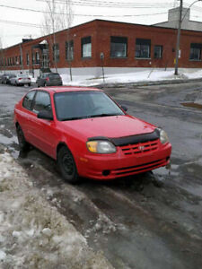 2003 HYUNDAI ACCENT FOR SALE