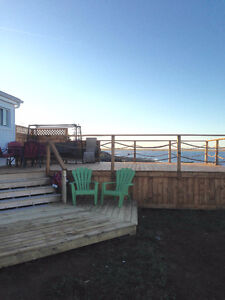 oceanfront cottage/chalet by Bouctouche Dune June only available