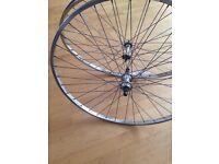 "700c wheelset vintage wheels 27"""