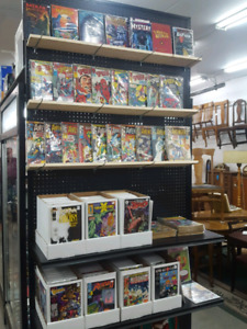 Tons of Comics Marvel DC Key Issues + Action Figures