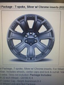 """Wanting: (4) Chevy 22"""" CK190 rims"""