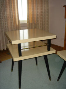Vintage 50's 60's Arborite Coffee and End Tables London Ontario image 4