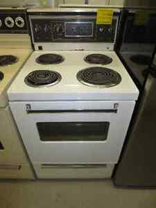"""GE 24"""" Coil Top Stove"""