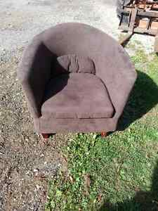 Two chairs for sale.