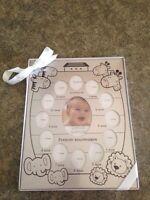 Cadre photos de bébé de la naissance à 1 an