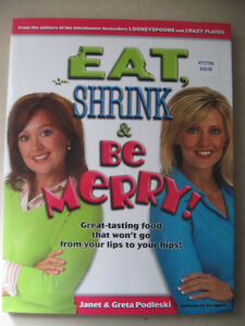 Eat, Shrink & Be Merry Cookbook Prince George British Columbia image 1