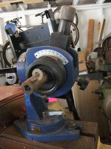 Manual Gun Drill ReGrinding Fixture dividing head