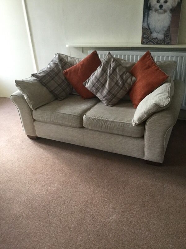 Next 2 seater sofain Newcastle, Tyne and WearGumtree - Next 2 seater sofa (beige) for sale which includes the cushions shown also from Next. Very good condition. Covers can be removed for cleaning. Collection from Ponteland area