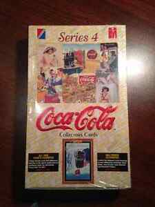 Full box unopened Coca Cola trading cards series 4