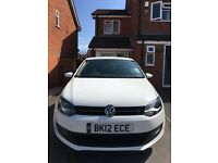 2012 (12) Volkswagen VW Polo 1.2 Match - WHITE - 5dr LOW MILEAGE