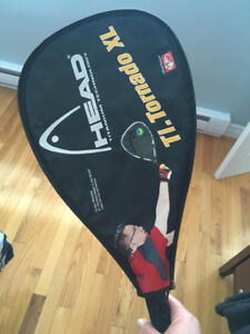 Raquetball Raquet with Cover