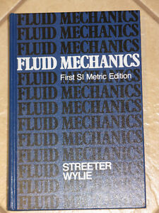 Fluid Mechanics, First SI Metric Edition,Streeter and Wylie 1981