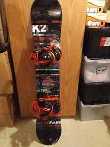 Rarely used 2015 K2 Fuse 155 with Sonic Bindings