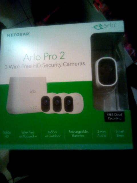 ARLO PRO 2 3 wireless HD security cameras   Video Cameras