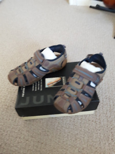 GEOX Boys Leather Sandals Size 36 in very good condition.