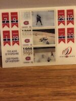 Montreal Canadiens 100th Anniversary - Stamps in Motion