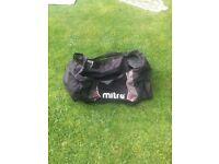 Mitre Football team kit bag used large bag or ball bag
