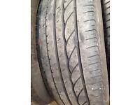 4 used part-worn tyres 205/60/R16