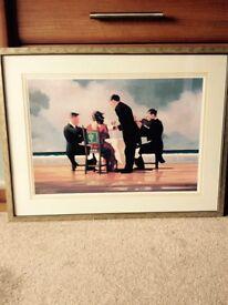 Jack Vettriano Framed Print
