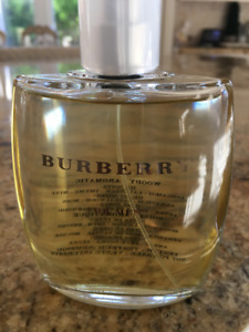 New BURBERRY for Men Eau de Toilette 100 ml EDT Unboxed Tester