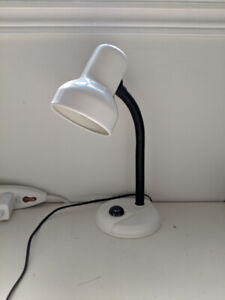 White adjustable desk / work lamp, in excellent condition!