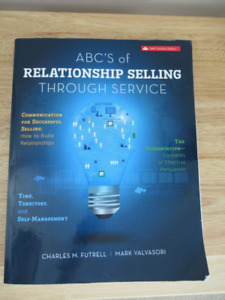 Conestoga-Sales - MKT2080 - ABC'S of Relationship Selling 6th ED