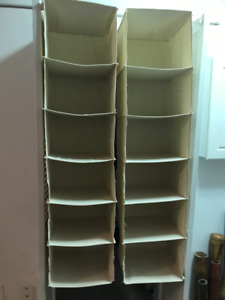 Closet Organizer with 6 shelves, Bage