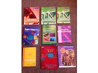 VARIOUS BOOKS FOR SECONDARY SCHOOL