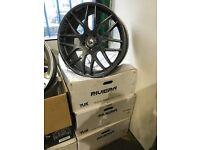 "22"" alloy wheels alloys rims 5x120 land Range Rover BMW X5 x6 x3 vw Volkswagen transporter t5"