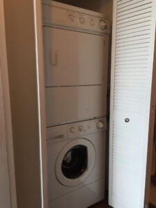 Frigidaire Like NEW White Front Load Washer & Dryer