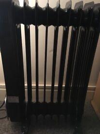 Swan oil filled electric 9 fin radiator