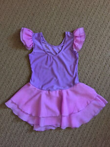 Dancing Leotard  6/6x dance tutu dress and dance shoes