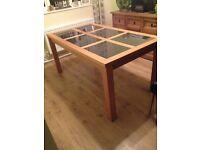 Free heavy wood table