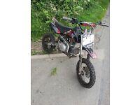 M2r kxf110 pit bike