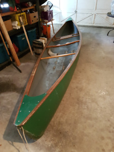 Mad River Courier solo canoe