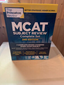 The Princeton Review MCAT 2nd Edition Complete Set