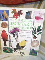 AUDUBON Backyard Birdwatcher book