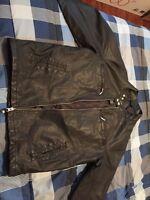 Med Men's Leather Jacket