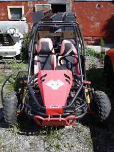 150 CC Carbide Fox Dunebuggy